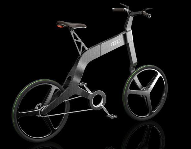 """The """"Audi Bike"""" Folding bike"""