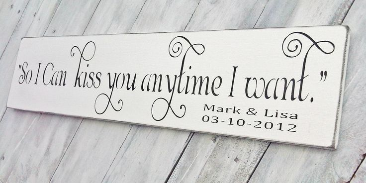 """Customized Anniversary Wedding Sign Southern Saying- """"So I"""