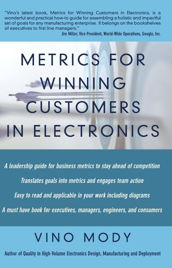 Indian Edition of 'Metrics for Winning Customers in Electronics' by Vino Mody released