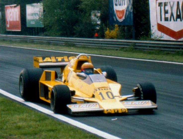 Alberto Colombo, ATS-Ford HS1, 1978 Belgian GP, Zolder