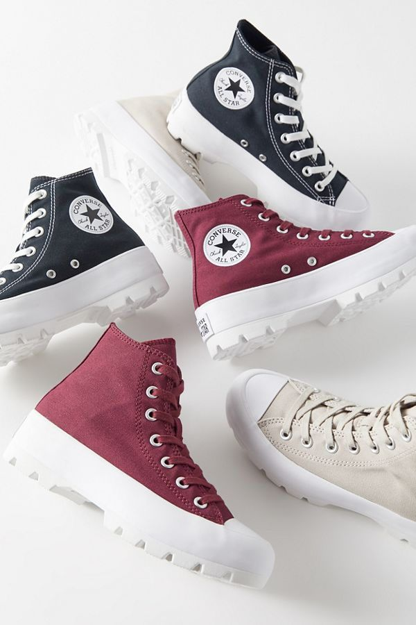 Converse Chuck Taylor All Star Lugged High Top Sneaker ...