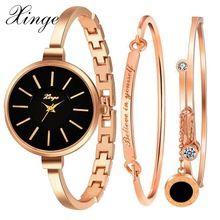 Xinge марка роскошные знаменитые женщины браслет часы ювелирные изделия часы набор наручные часы женщины кристалл драгоценный камень кварце...(China (Mainland))