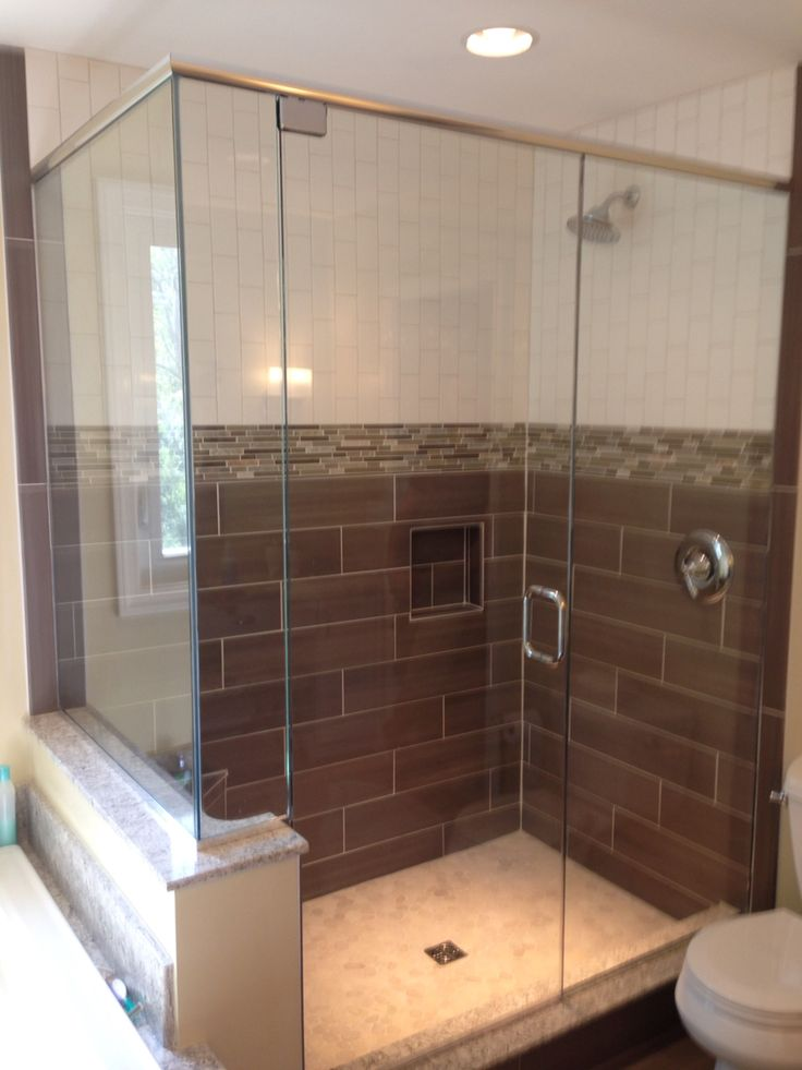 Unique Design Of A Frameless Shower Door. This Particular Design Required  The Use Of A · Frameless Shower DoorsHeaderBathroom IdeasBathrooms Decor