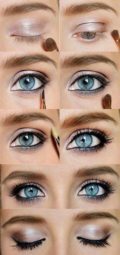 Kilka ruchów pędzla i oczy stają się wielkie! Jak Wam się podoba? ;)