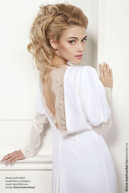 Платье белое легкое короткое деревенское