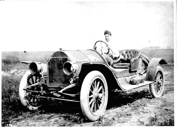 Bernard Hultstrand in a Jackson car in 1912. The Jackson Automobile Company of Jackson, Michigan was a brass era auto manufacturer that produced the Jackson from 1903-23, as well as the Jaxon steam car during 1903, and the Orlo in 1904.
