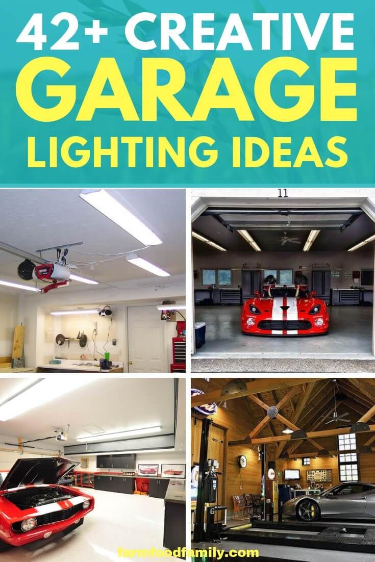 42 Best Garage Lighting Designs Ideas For 2020 Garage Lighting Garage Door Lights Led Garage Lights