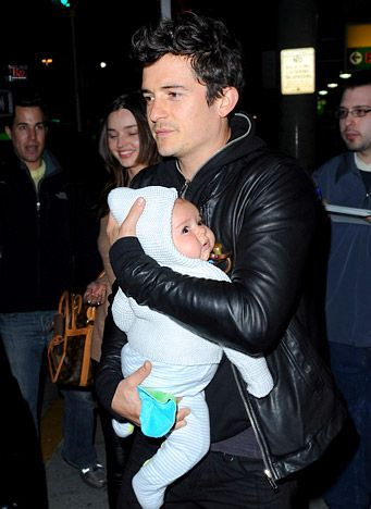 """""""All the things that you thought were important drift into the background, and the things that are really important come to the forefront, and he's one of them,"""" Orlando Bloom says of Flynn, who came into the world in January 2011. """"He's my boy. He's amazing."""""""