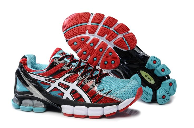 Cheap Cute Asics Gel Kinsei 4 Mens Claret Red Tiffany Blue Silver Running Shoes Sale Online