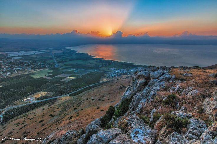 sunrise the Arbel