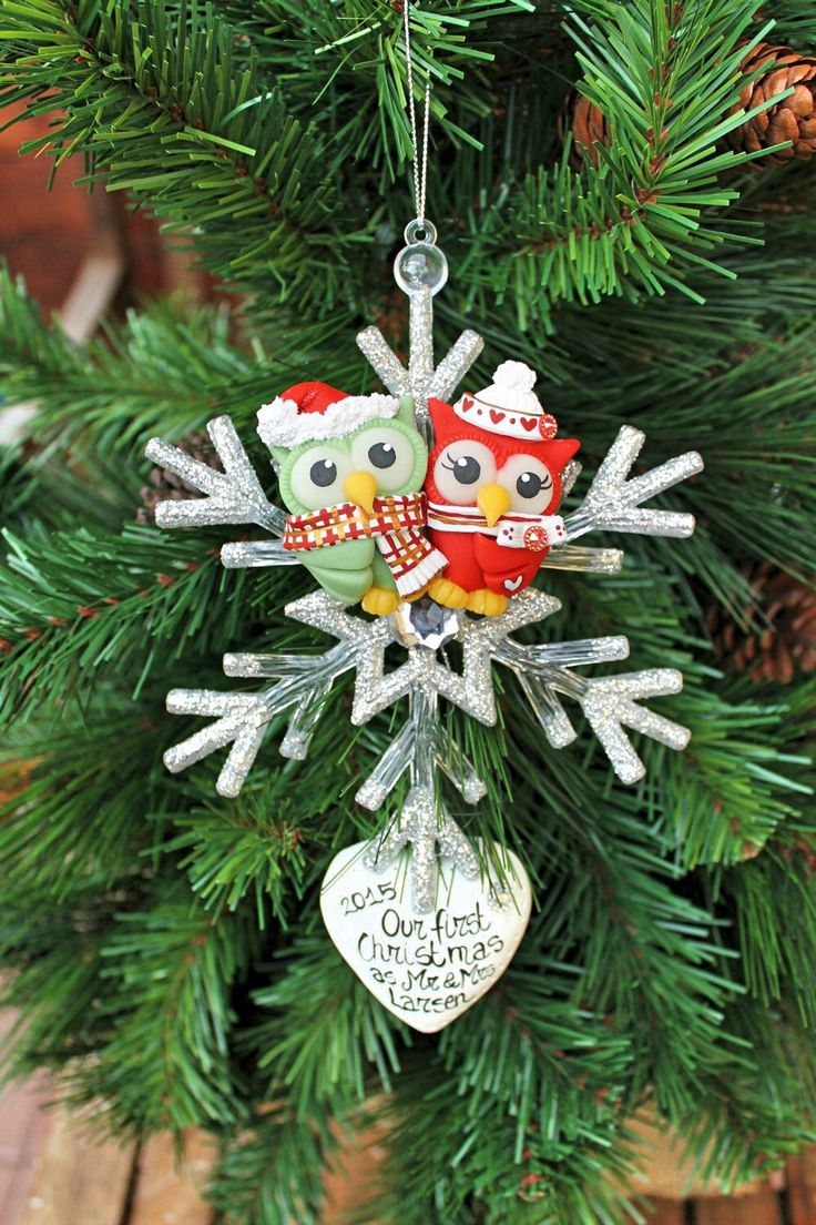 First wedding ornament - Our First Christmas Married Ornament Https Www Etsy Com Listing