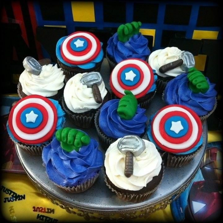 The Avengers Cupcakes — Cupcakes!