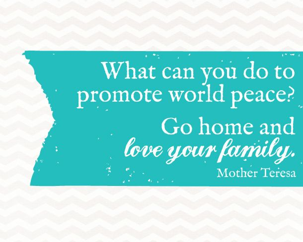 Sunday Encouragement: World Peace Quote | landeelu.com