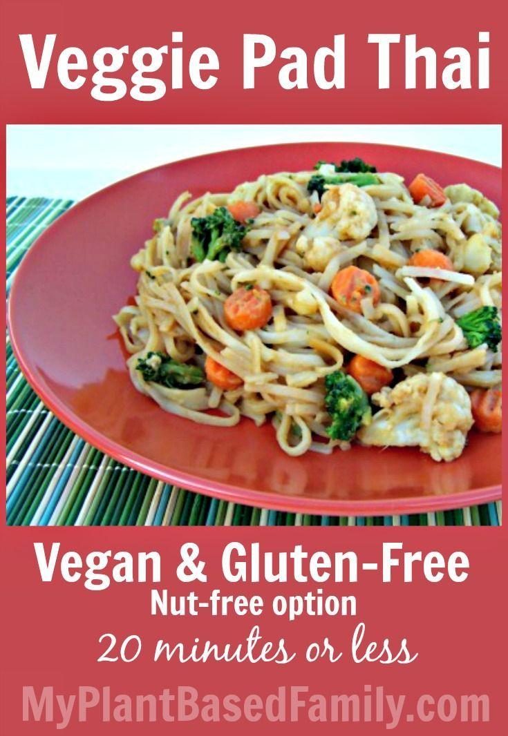 Quick and easy veggie pad thai recipe happy delicious for Quick and delicious dinner recipes