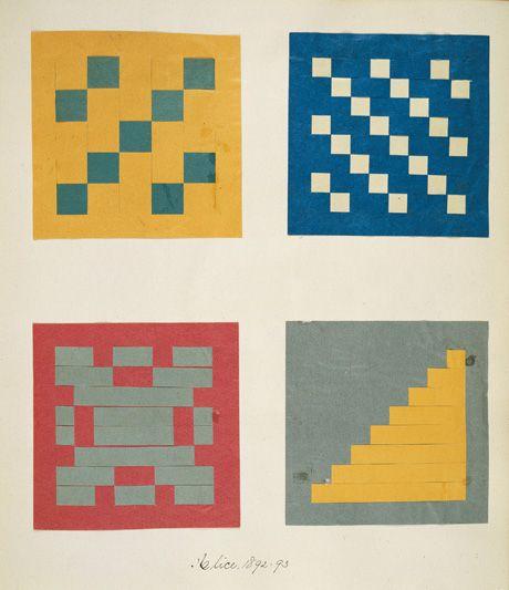 In letzter Zeit wird Fröbel als Inspirator der modernen Kunst und der modernen Architektur und ganz allgemein als Erzieher zur Abstraktion gesehen. Eine ganze Generation moderner Künstler wie Piet Mondrian, Wassily Kandinsky, Georges Braque, Juan Gris und avantgardistischer Architekten wie Le Corbusier, Walter Gropius, Frank Lloyd Wright falteten, flochten, prickten, spielten und bastelten im Kindergarten mit Fröbels streng geometrischen und abstrakten Formen.