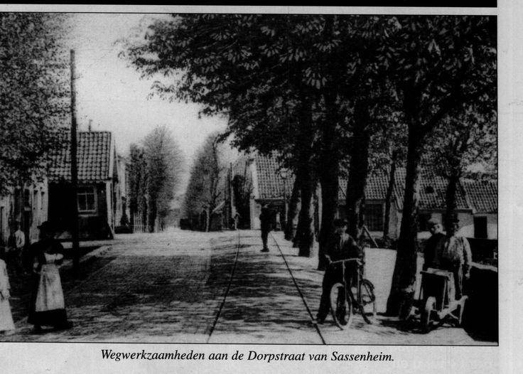 Werkzaamheden aan Dorpsstraat 1850-1900