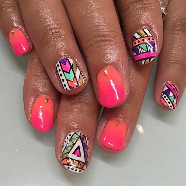 The 25 best tribal nail designs ideas on pinterest amazing the 25 best tribal nail designs ideas on pinterest amazing nails matte nail designs and pretty nails prinsesfo Choice Image
