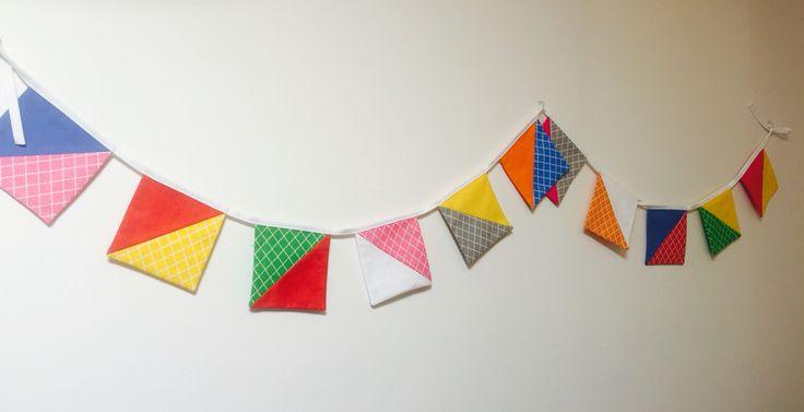 Festive bunting Www.facebook.com/kaleidoscopeofdesigns
