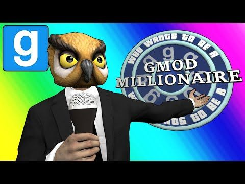 cool Gmod Sandbox Funny Moments - Who Wants to be a Gmod Millionaire?