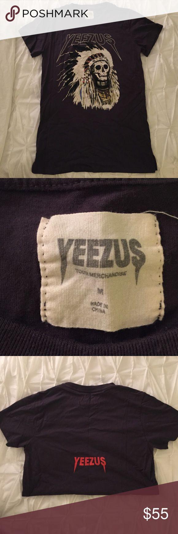Yeezus Tour Shirt! Brand New!! New Kanye West Yeezus shirt with Skull, size Men's Medium. Yeezy Tops Tees - Short Sleeve
