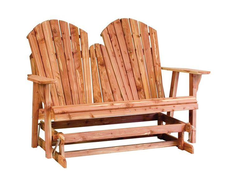 Build Adirondack Loveseat Glider Woodworking Projects Plans