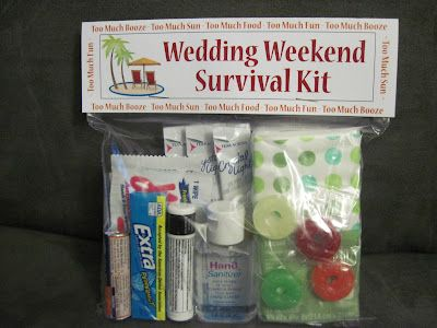 Lady Wedding: Kit de supervivencia para los invitados