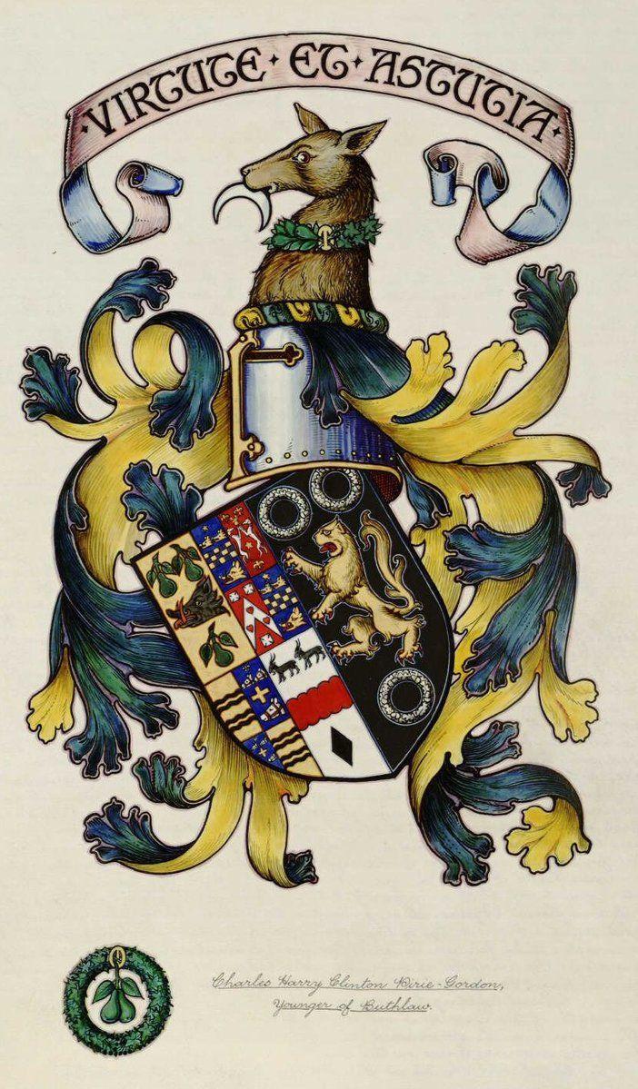 Arms of Charles Harry Clinton Pirie-Gordon
