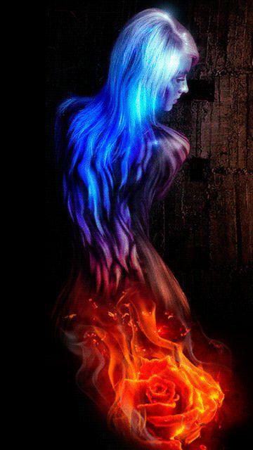 Flammen Haar                                                                                                                                                                                 Mehr