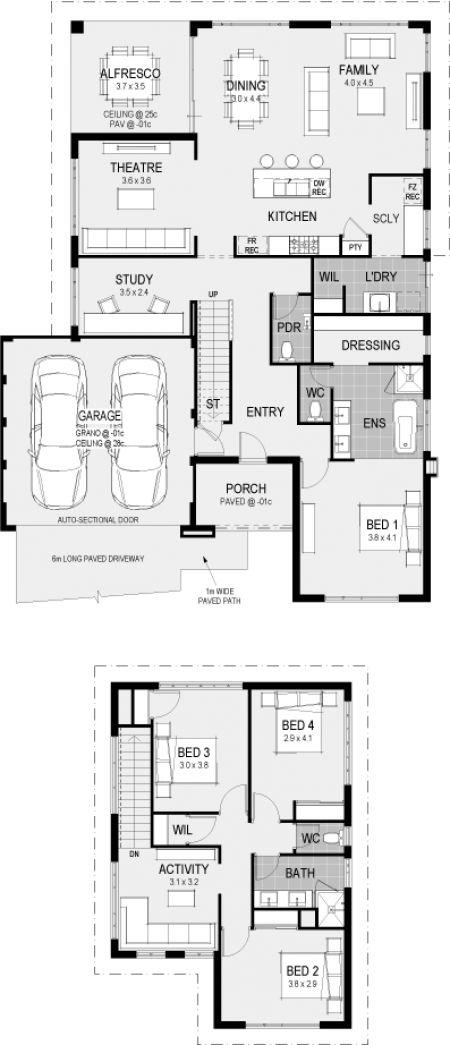1354 best hp perth wa images on pinterest floor plans for Case layout planimetrie