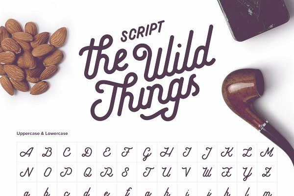 The Wild Things Cursive Script Lowercase A