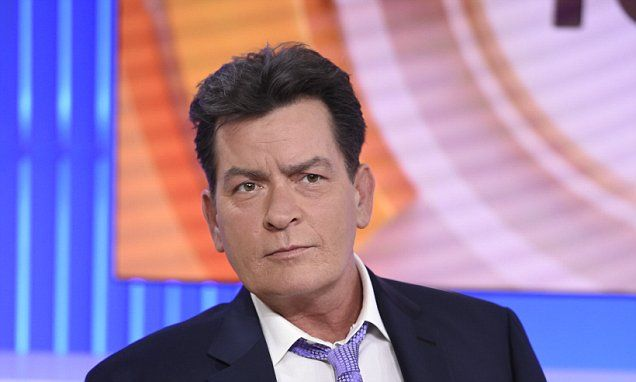 Video shows Charlie Sheen 'performing oral sex on another man' #DailyMail