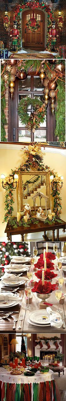 Подборка идей для украшения интерьера к Новому году и Рождеству | Наш уютный дом