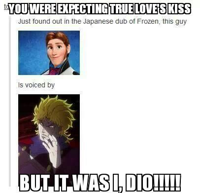 jojo bizarre adventure dio meme - Google Search