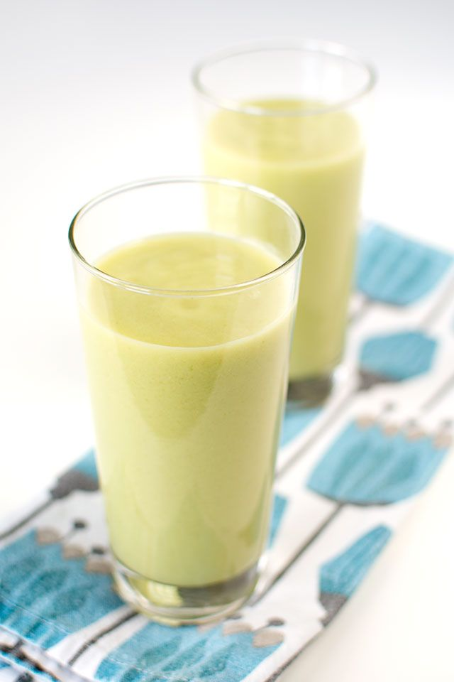 Kall soppa med avokado