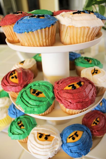 Ninja Cupcakes! These are happening