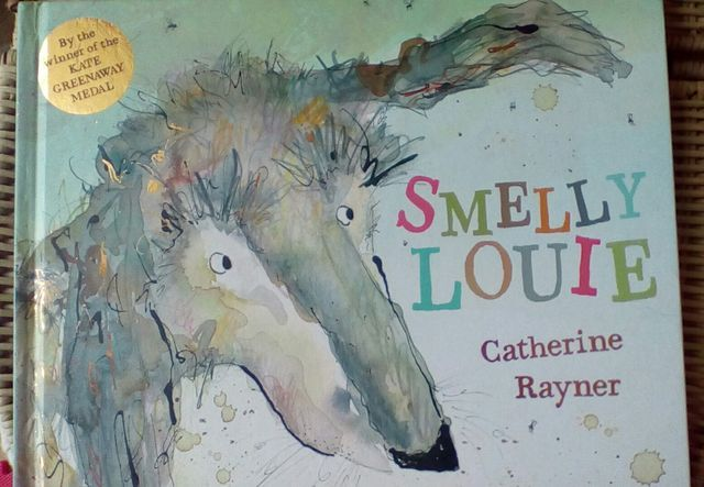 Book Review: Smelly Louie by Catherine Rayner