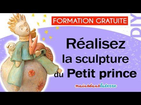 Formation Réalisez la sculpture en argile du Petit Prince Pottery video ...