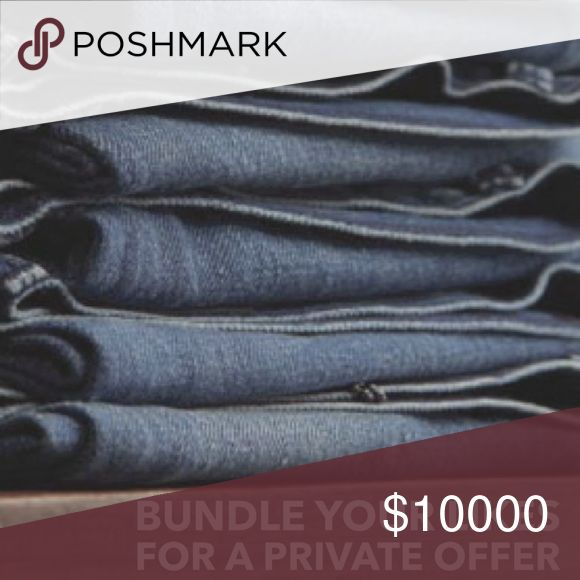 Bundle your Likes Why just like items in my closet when you can own them,at an even better price?  Add your ❤️'s to a bundle and I will send you a discounted offer for JUST YOU!  Bundles of items at their lowest or final prices are not eligible. I'll do my best to work with you, Chanel, LV and Prada excluded. MOTHER Jeans