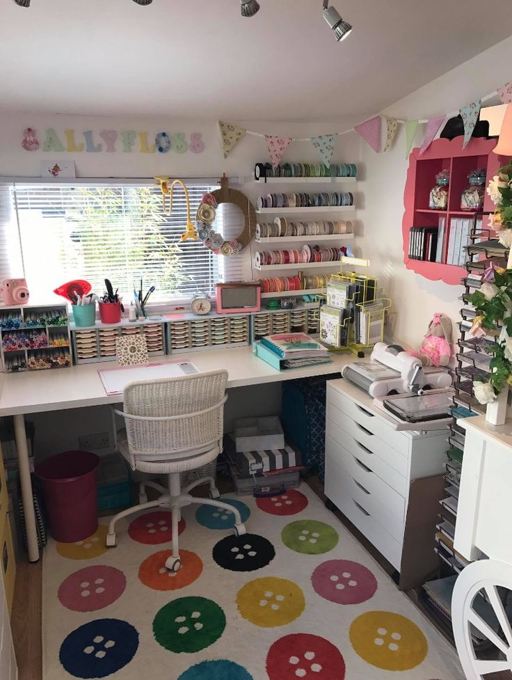 Craft room home design decor pinterest ateli for How can i design my room online