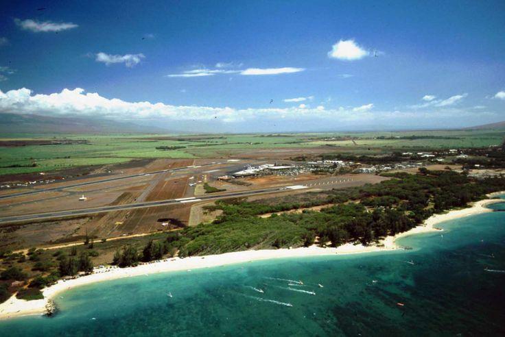 Kahului | Kahului Airport Aerial, 1985