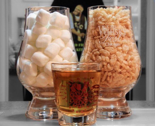 Rice Whiskey Treats 1 640x521 How to make Jim Beam Rice Whiskey Treats