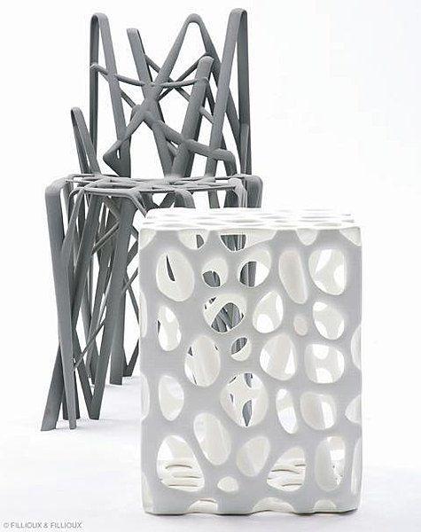 Patrick Jouin impression 3D http://www.lifestyl3d.com/du-musee-a-votre-salon-focus-sur-patrick-jouin/