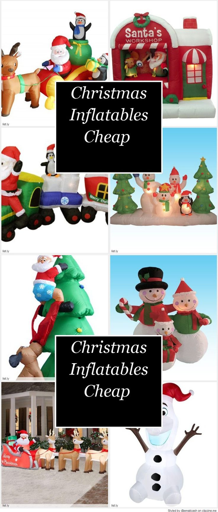 Christmas Inflatables Cheap | Christmas inflatables ...