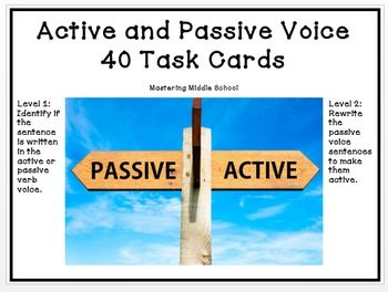 how to write in active voice