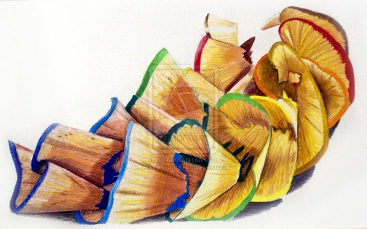 pencil shavings (With images) | Colorful drawings, Pencil ...