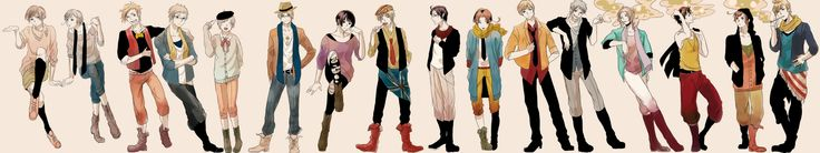 Hipster romano | The Hipsters of Hetalia - Hetalia Photo (31585049) - Fanpop