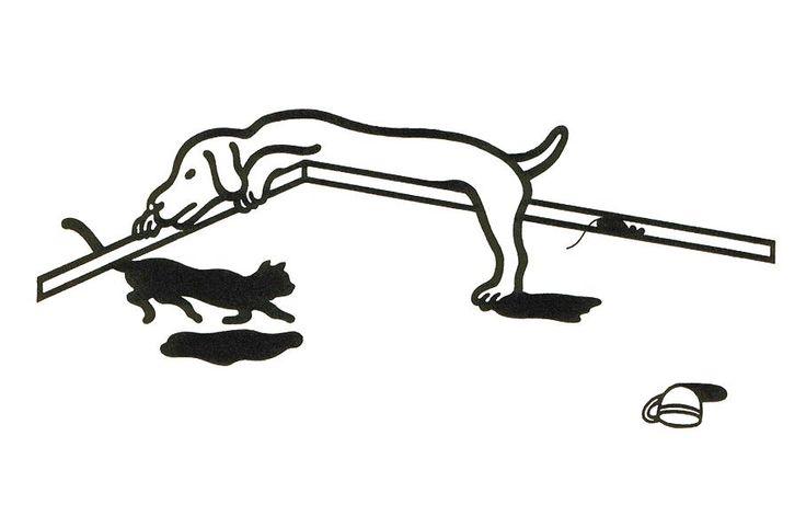 出典  trickart.seesaa.net  福田繁雄トリックアートだまし絵画像: トリックアート ~だまし絵の ...