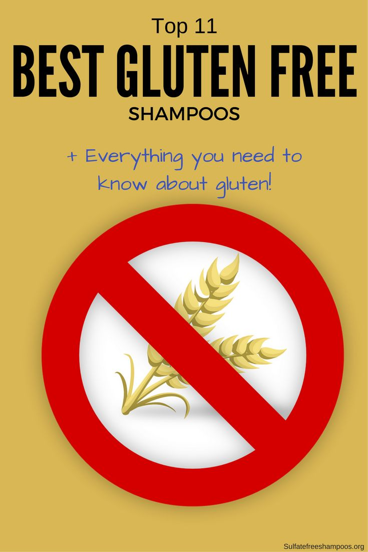 There are many gluten free shampoos available as well. Here are the top 11 products available.