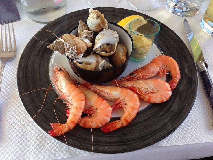 https://flic.kr/p/yWuDZj | Shrimps and bulots, Clubhouse, Golf de Mionnay