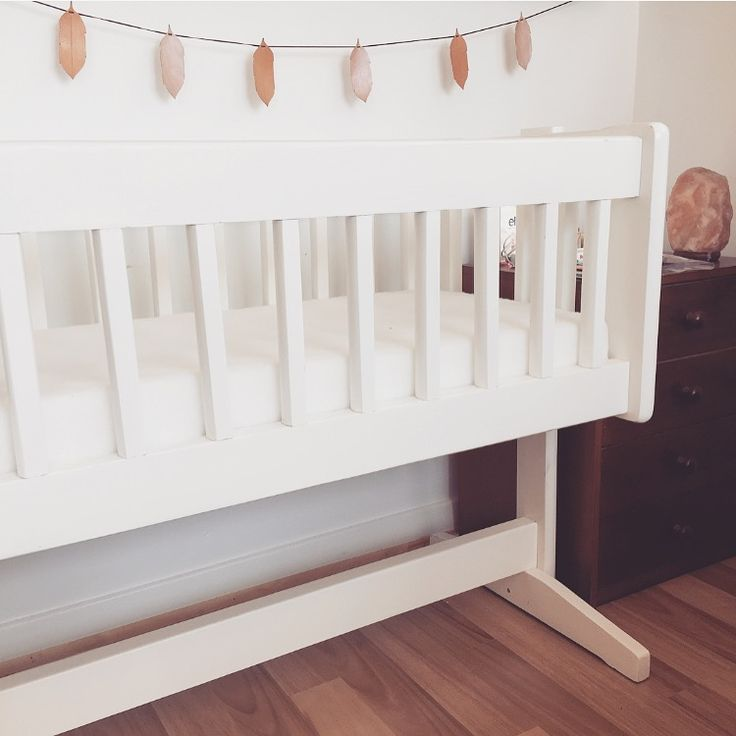 Starting to get organised for this little addition to our lives. Handmade leather feather bunting available online (www.bethnewton.com) or from @haveyoumetcharlie ✨ #babybed #leatherfeather #bunting #bassinet #cot #featherbunting #handmade #babyroom #babydecor #leatherdecoration #whitewood #woodencot #himalayansaltlamp #himalayan #saltlamp #baby #babyprep #34weeks #gettingbabyready #decorate #create